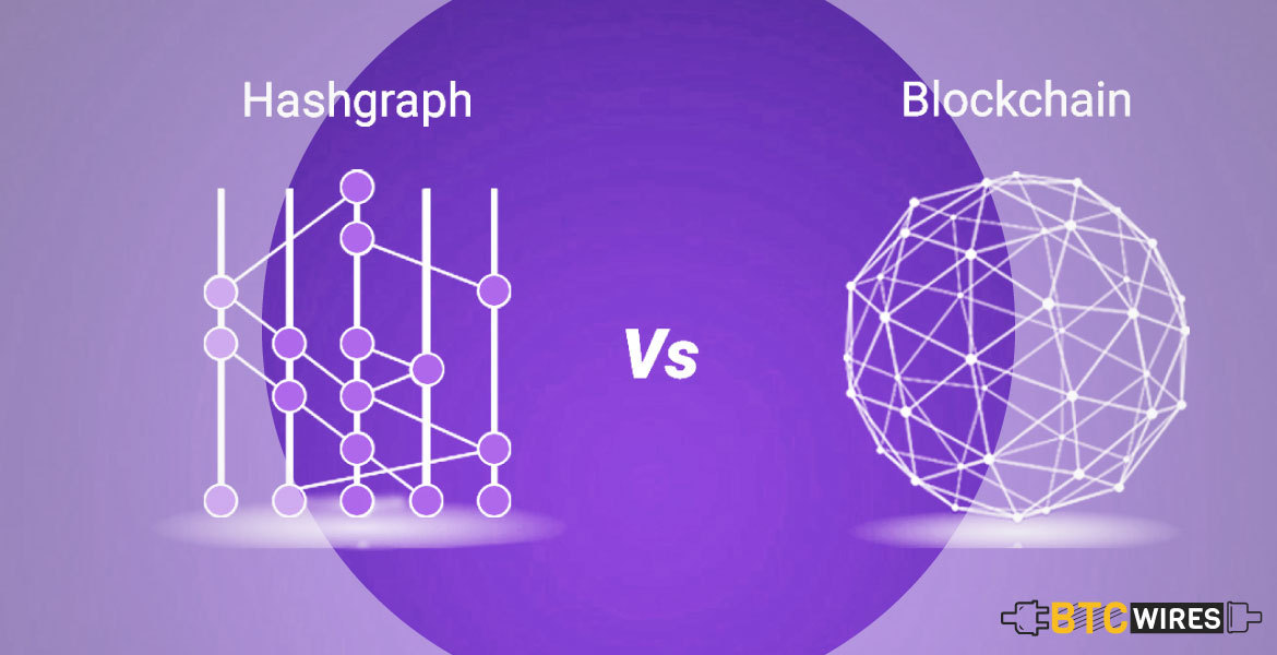 Hashgraph Vs Blockchain Explained | BTC Wires