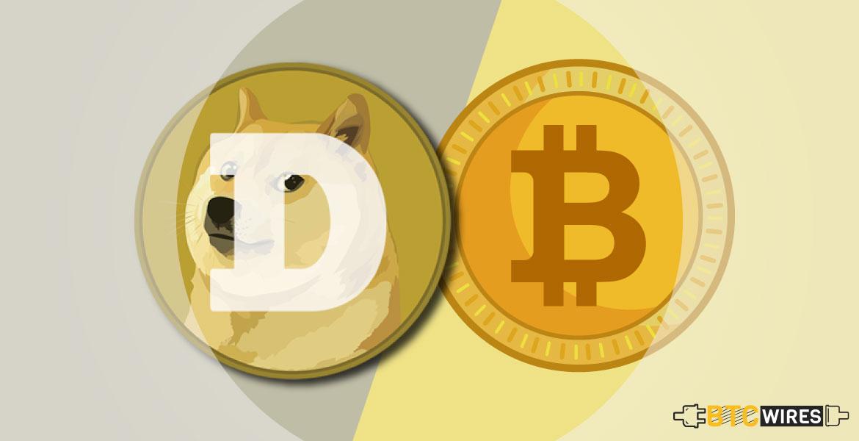 commercio bitcoin a dogecoin)