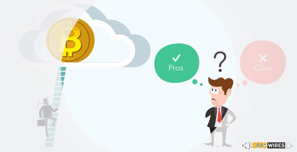 Pros and Cons of Cloud Mining