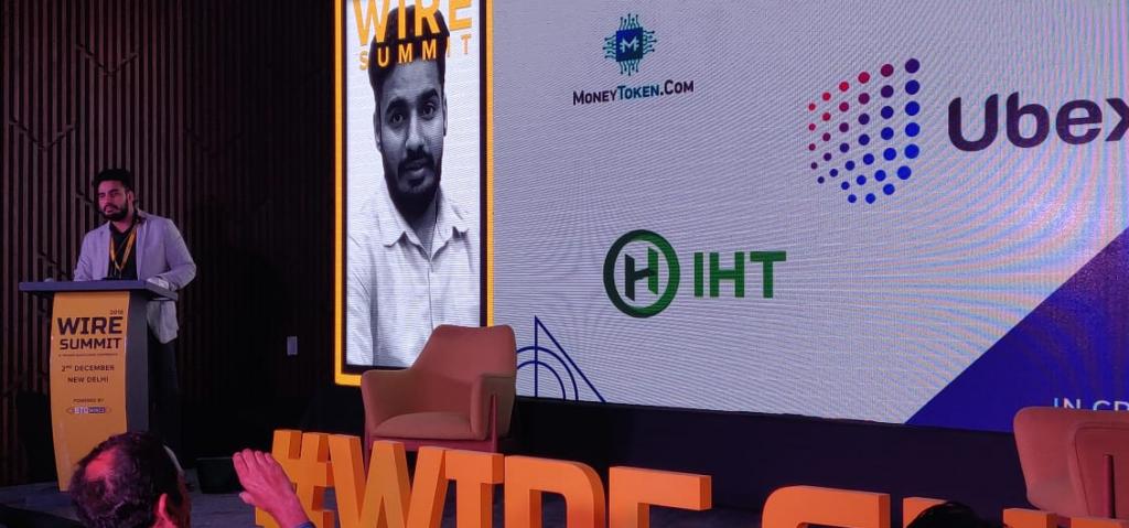 Raghav Soni at Wire Summit 2018