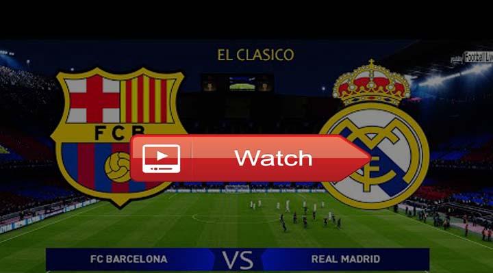 barcelona vs real madrid free live streaming reddit