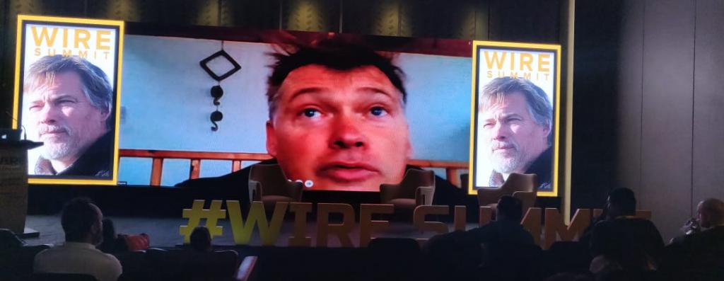 Simon Cocking at Wire Summit 2018