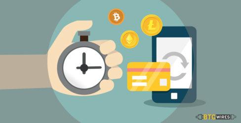 Speed comparison of popular cryptocurrencies