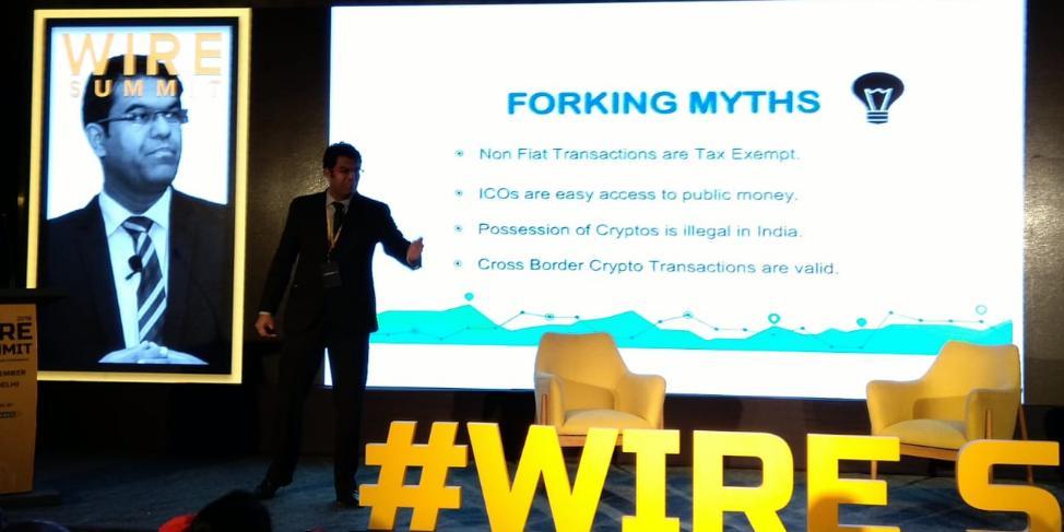 Varun Sethi at Wire Summit 2018